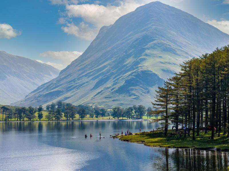 Buttermere in England's Lake District