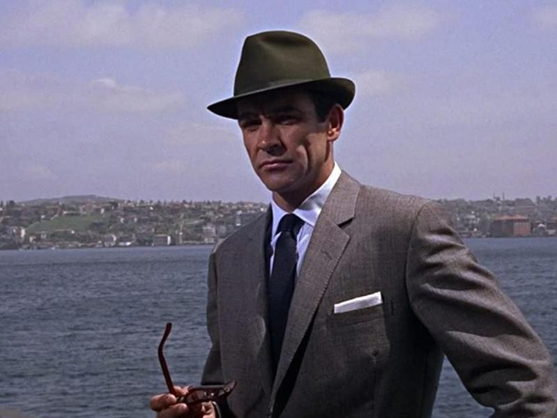 """Sean Connery in """"From Russia With Love"""""""