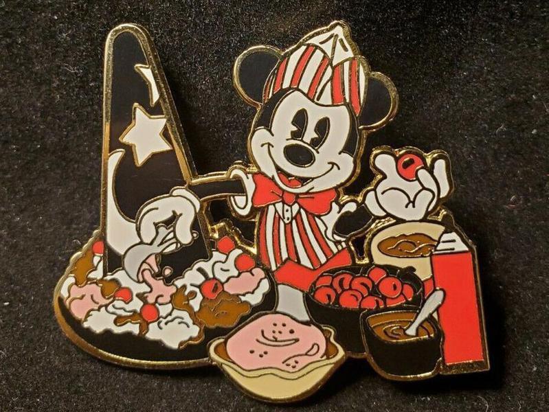 Mickey Mouse Soda Jerk Disney Pin