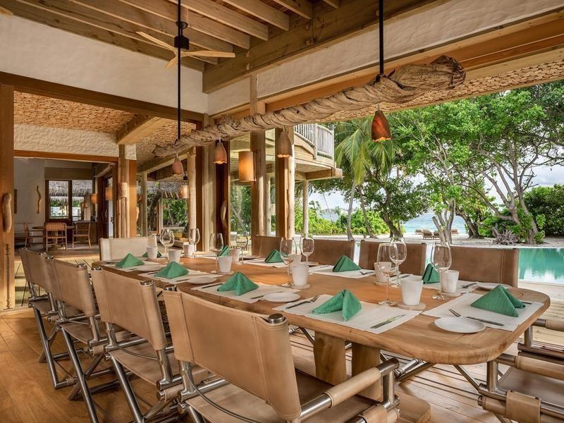 Luxury eco-resort in The Maldives