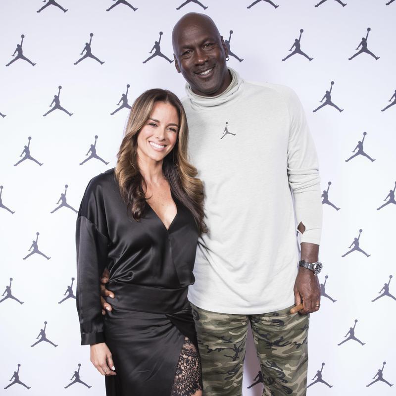 Michael Jordan and Yvette Prieto arrival