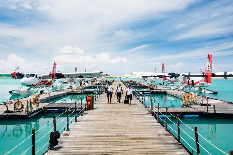 seaplanes in Maldives