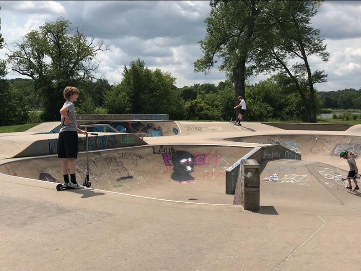 Iowa City Skate in Iowa City, Iowa