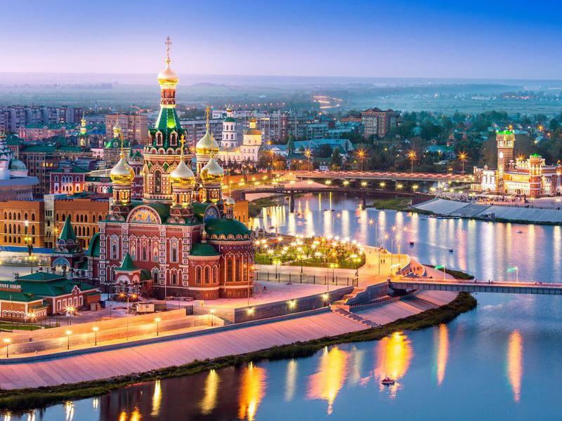 Volga region of Russia, the city of Yoshkar-Ola