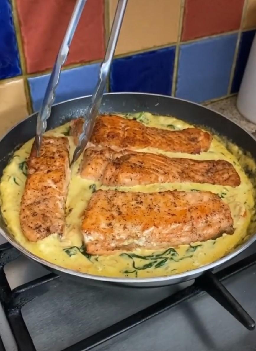 Amazing salmon recipe