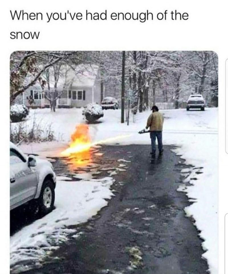 Fire in the street