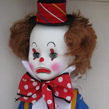 Jethro Clown Doll