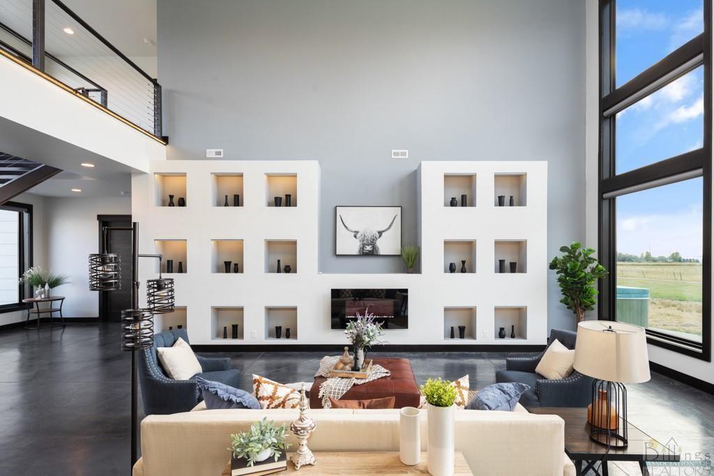 Modern home in Billings, Montana