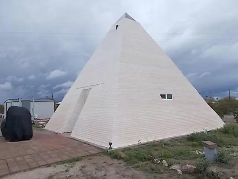 Pyramid house in Arizona