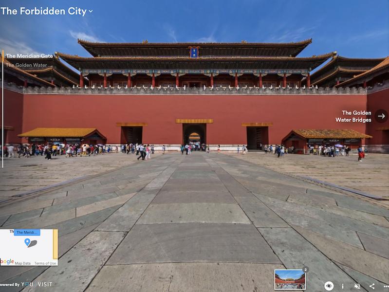 Forbidden City virtual
