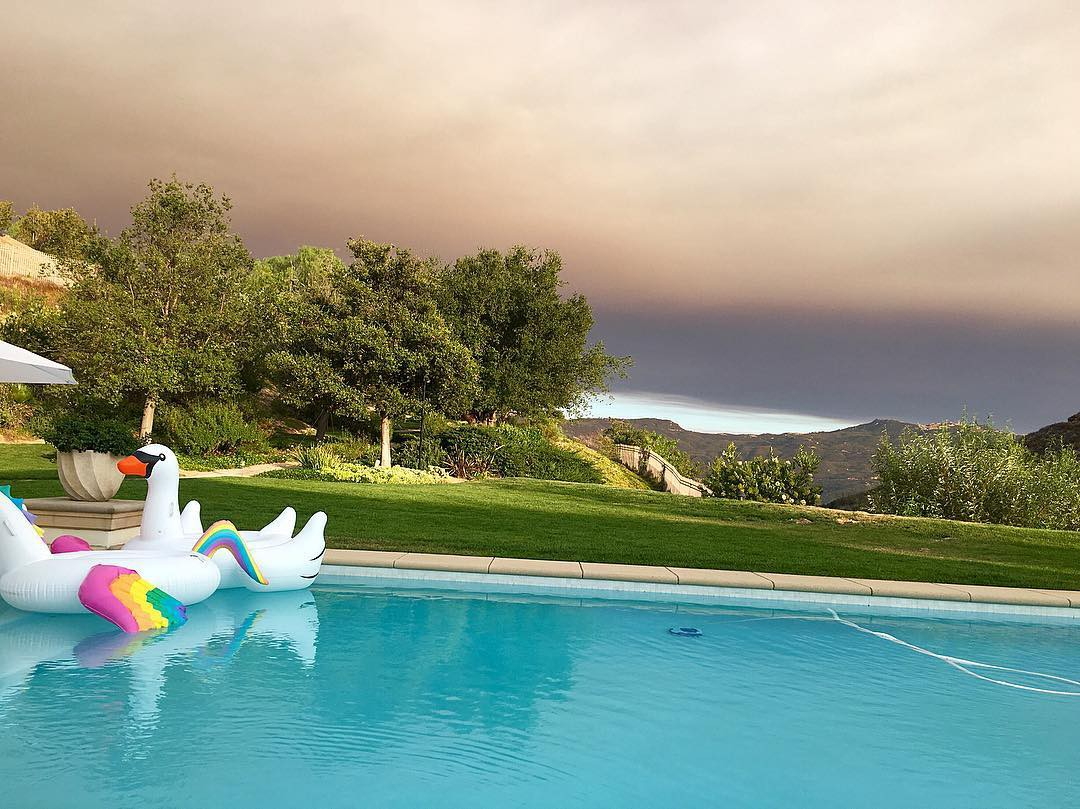 Khloe Kardashian's house in Hidden Hills
