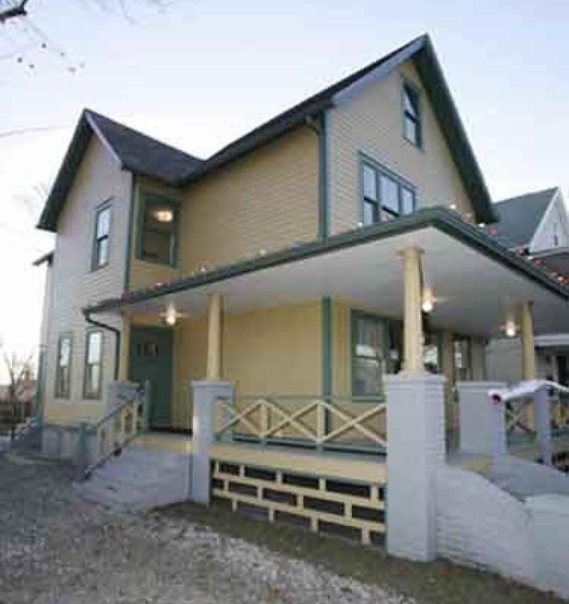 The Christmas Story house