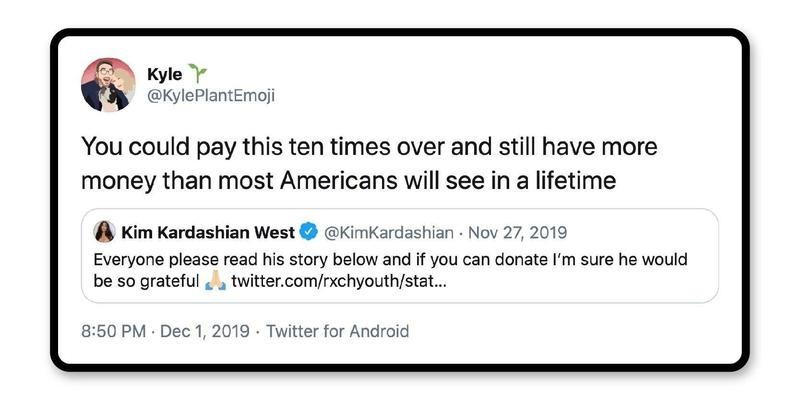 How about giving?