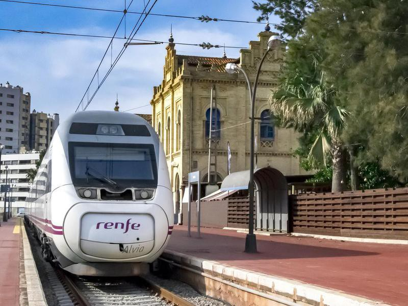 Renfe high speed train in Andalusia