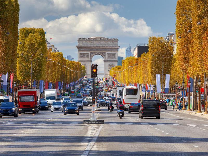 Champs Elysees, Paris
