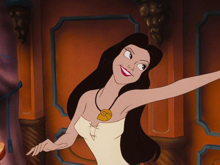 Ursula as Vanessa in The Little Mermaid