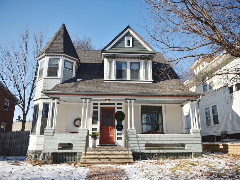 The Harrison DeLong House exterior