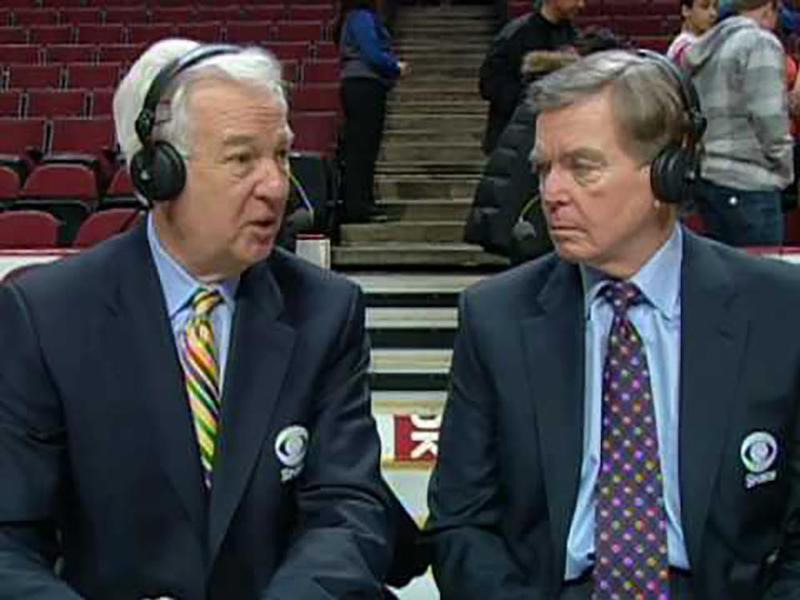 Don Criqui and Bill Raftery