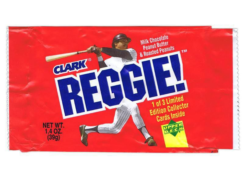 Reggie! Candy Bars