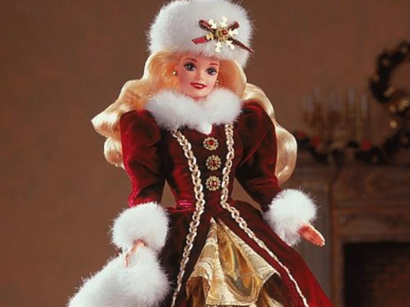 1996 Happy Holidays Barbie