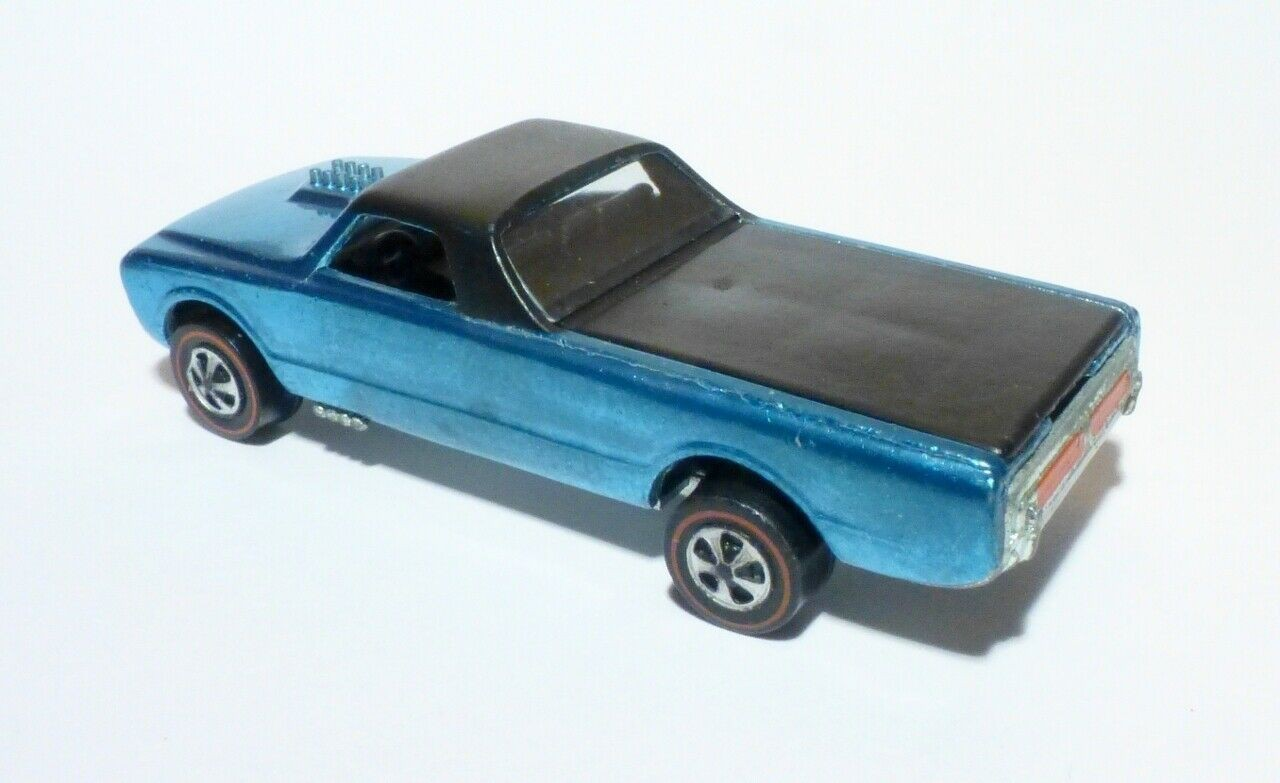 1968 Icy Blue Custom Fleetside Hot Wheels