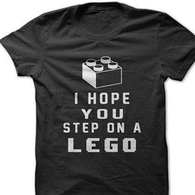 Step On a Lego Funny T-shirts