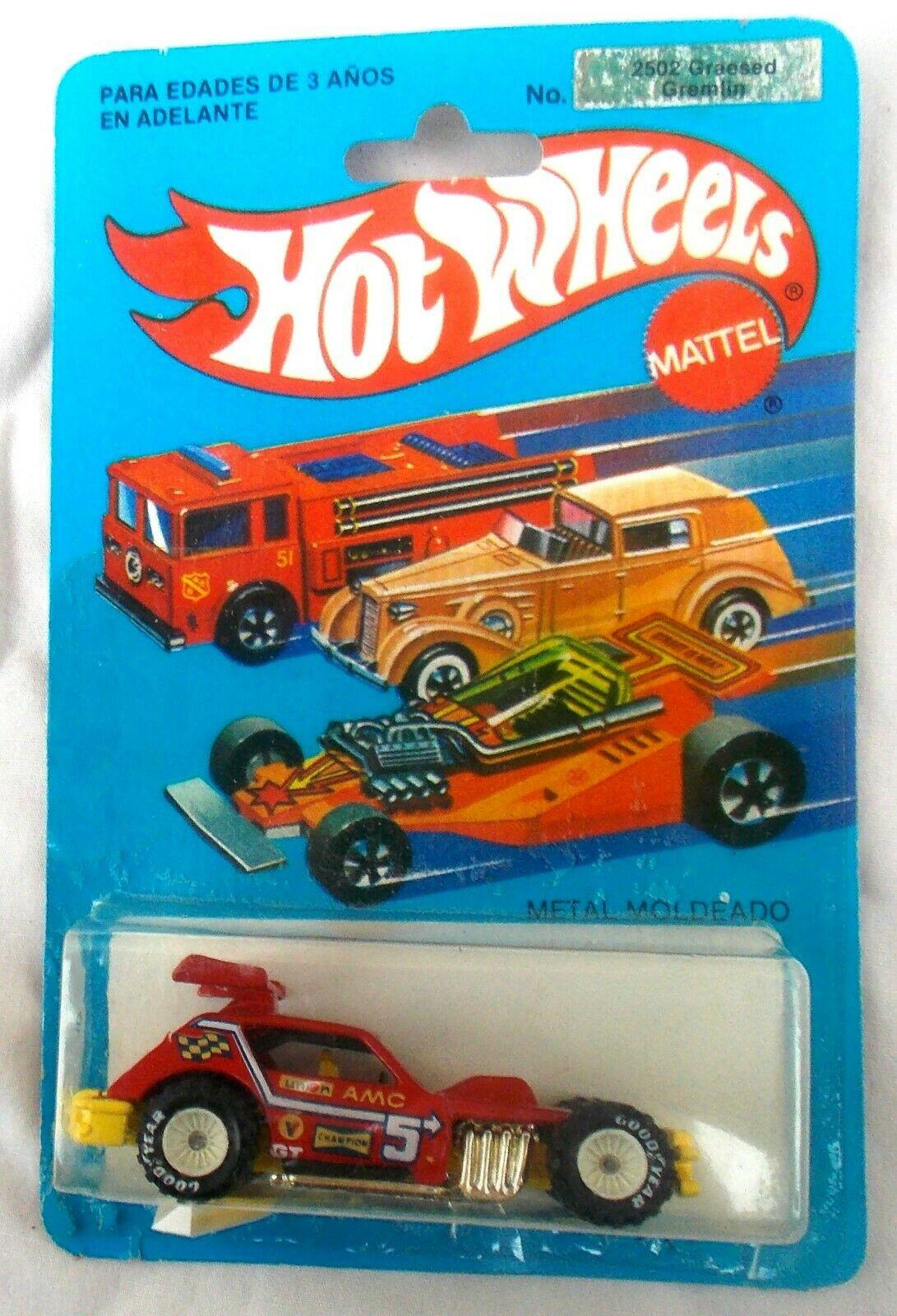 1983 Greasy Gremlin Hot Wheels