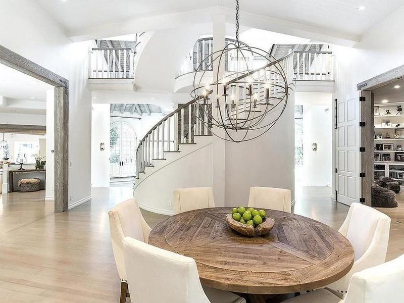 Open floorplan living area