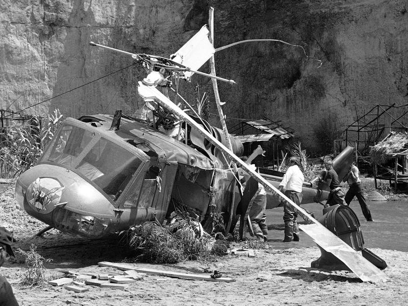 Vic Morrow helicopter crash