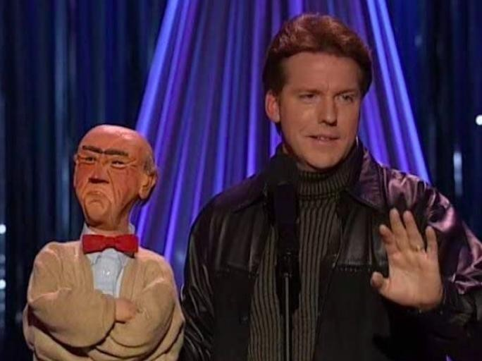Jeff Dunham on Comedy Central in 1998