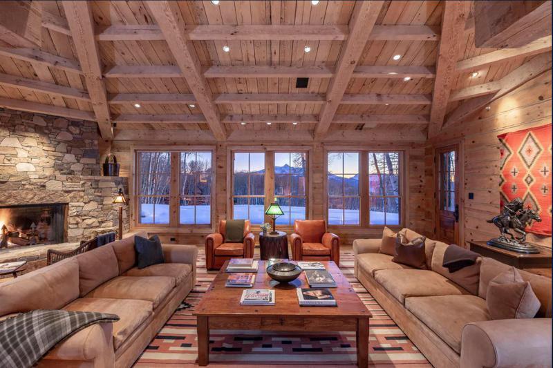 Tom Cruise's living room