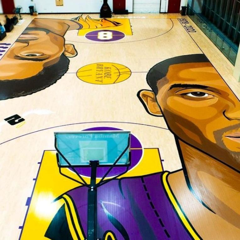 Kobe Bryant Court in China