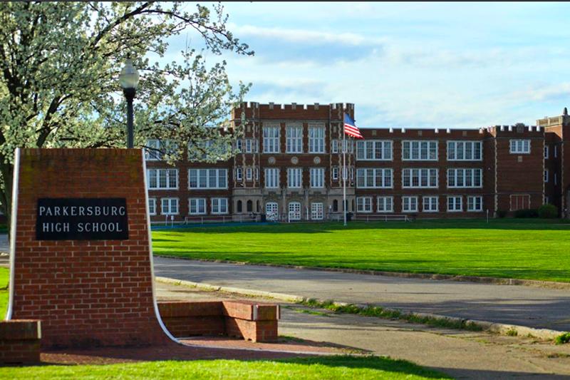 Parkersburg High School in West Virginia