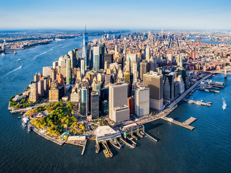 New York City (pictured) and other major metro areas draw a lot of people looking to get ahead in their careers. But big cities aren't the only places to get ahead.