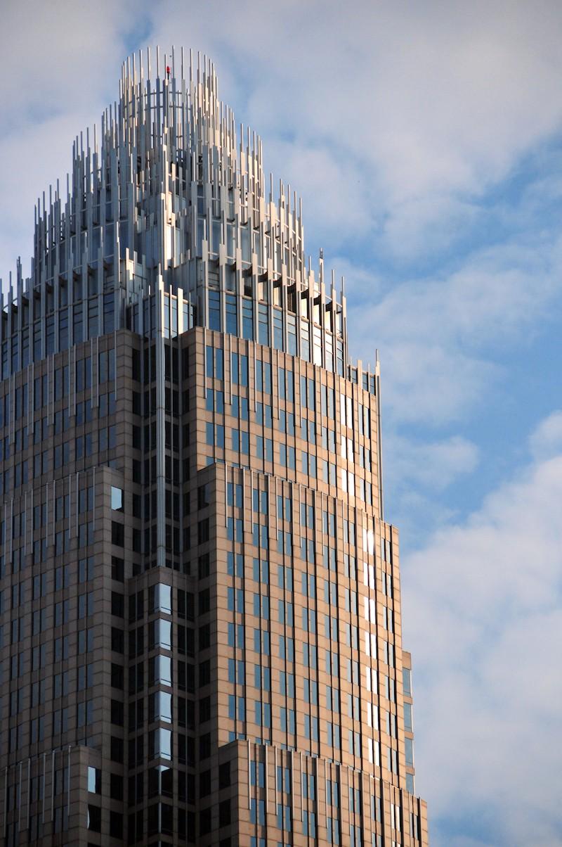 bank of america corporate center charlotte nc