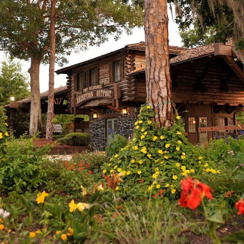 Exterior of main building at The Campsites at Disney's Fort Wilderness Resort