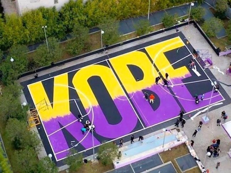 Kobe Bryant court in Italy