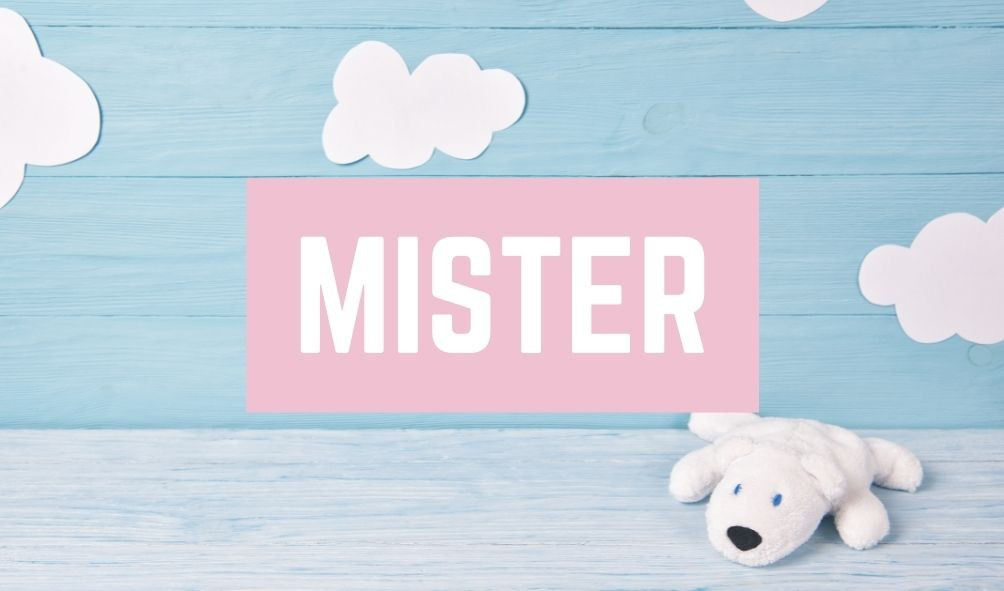 Terrible Baby Names: Mister