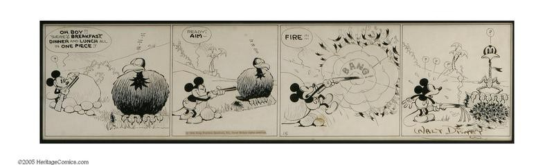 First Mickey Mouse appearance