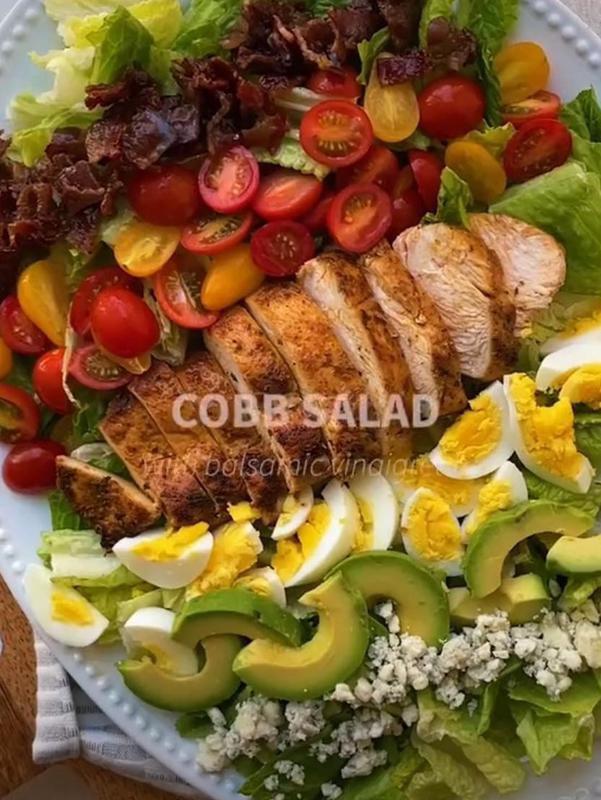 Fresh cobb salad