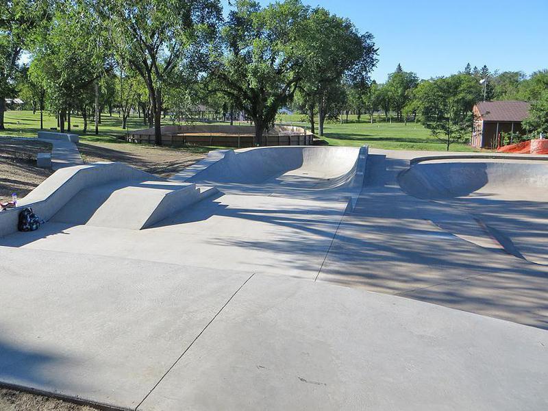 Sons of Norway Skateboarding Park in Bismarck, North Dakota