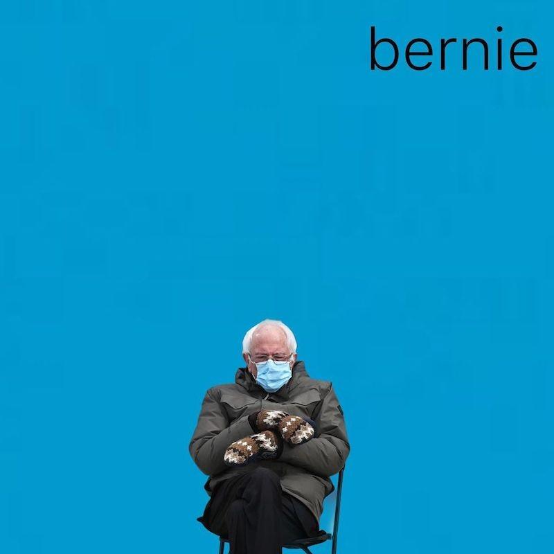 Bernie Sanders on his own Weeze album