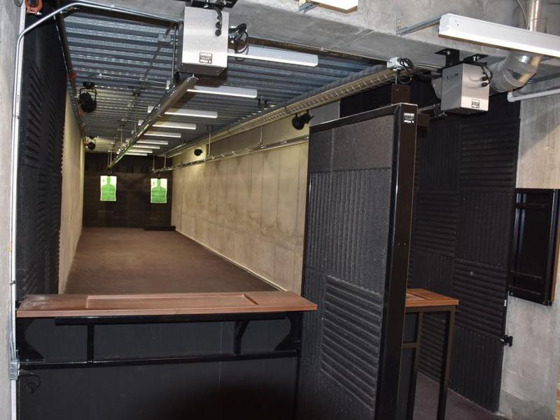 Survival condo shooting range