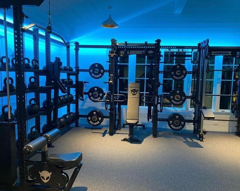 Joe Rogan's home gym