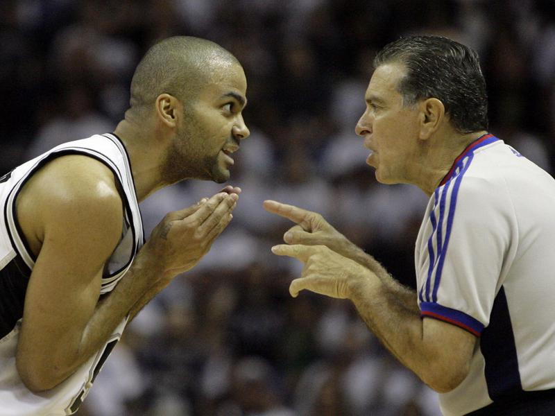 Tony Parker and Joe Forte