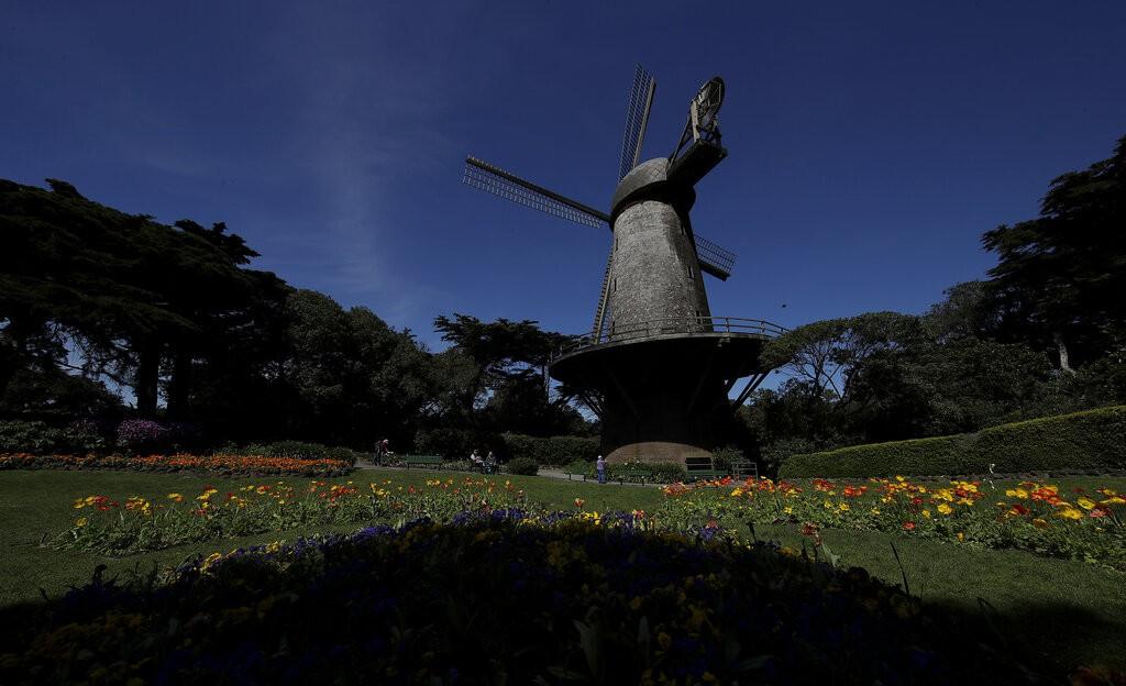 Queen Wilhelmina Garden at Golden Gate Park
