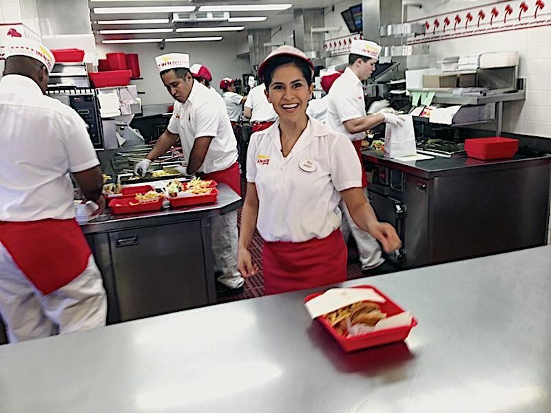 In-N-Out worker