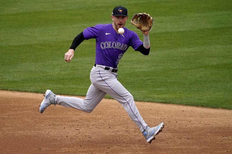Colorado Rockies shortstop Trevor Story