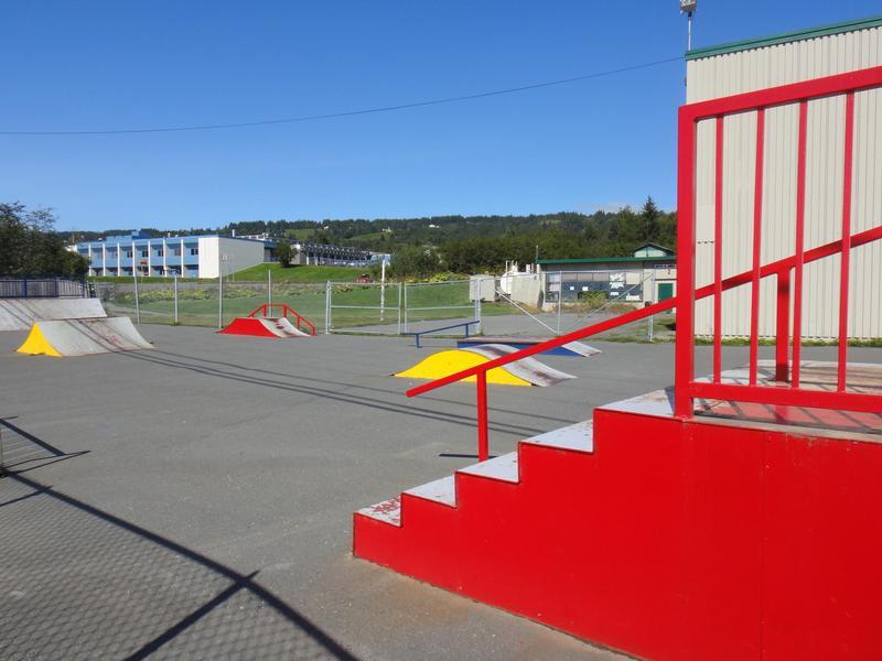 Homer Skate Park in Juneau, Alaska