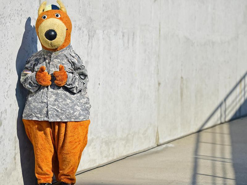 Zippy, the Akron mascot